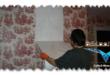 كيفية ازالة ورق الحائط ( ورق الدبل فيس )